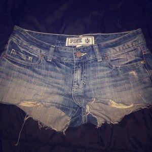 Victoria secret pink! Jean shorts